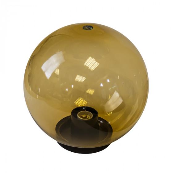 НТУ 01-150-403 ЭРА Светильник садово-парковый шар золотистый D400mm Е27 (1/12)