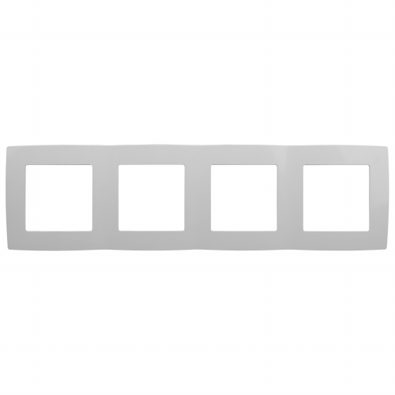 12-5004-01 ЭРА Рамка на 4 поста, Эра12, белый (10/100/1600)