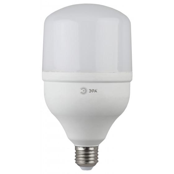 LED POWER T120-40W-4000-E27 ЭРА (диод, колокол, 40Вт, нейтр, E27) (20/200)