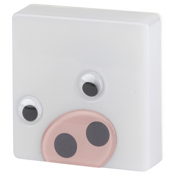 ЭРА ночник NN-631-LS-P розовый (12/48/384)