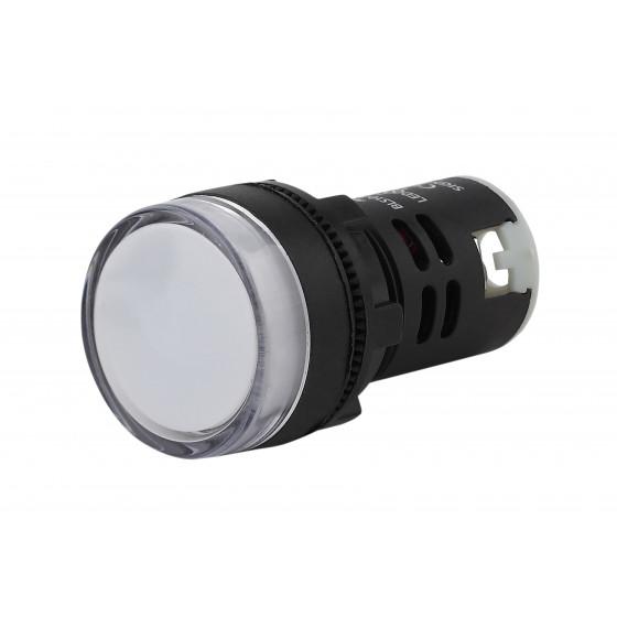 ЭРА Лампа AD22DS(LED)матрица d22мм белый 230В (10/1000/15000)