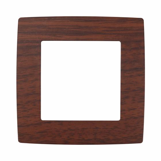 12-5001-08 ЭРА Рамка на 1 пост, Эра12, вишня (20/200/6400)