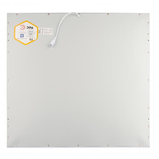 Светодиодная панель ЭРА SPL-5-40-6K (W) 40Вт 6500К 2800Лм IP40 595x595x8 белая без драйвера