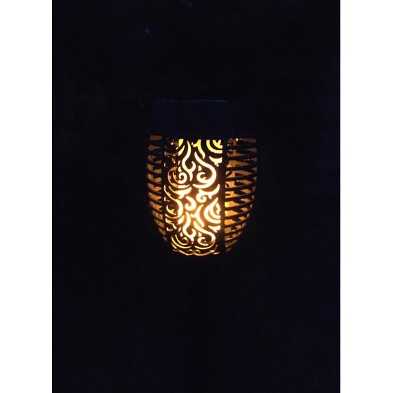 ERASF012-35 ЭРА Садовый светильник Факел на солнечной батарее, 72 см (12/192)