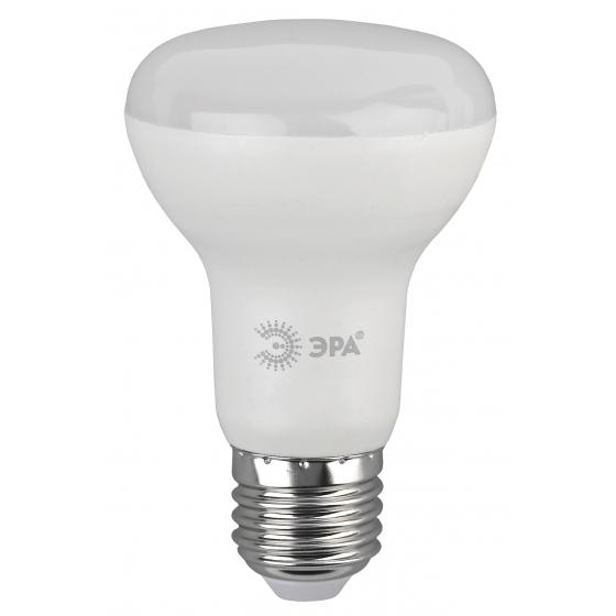 LED R63-8W-840-E27 ЭРА (диод, рефлектор, 8Вт, нейтр, E27) (10/100/1500)