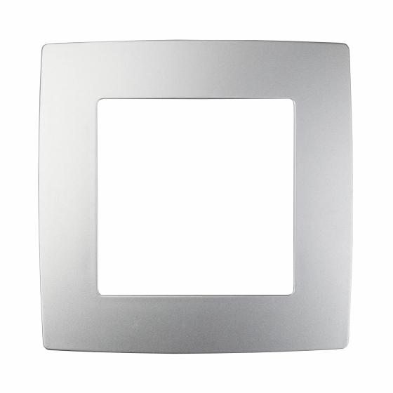 12-5001-03 ЭРА Рамка на 1 пост, Эра12, алюминий (20/200/6400)