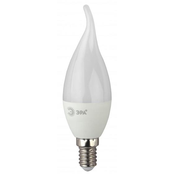 LED BXS-7W-840-E14 ЭРА (диод, свеча на ветру, 7Вт, нейтр, E14) (10/100/2800)