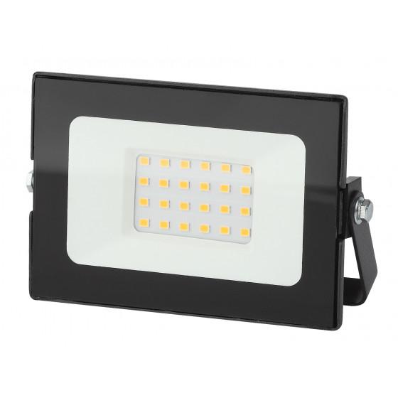 LPR-021-0-30K-050 ЭРА Прожектор светодиодный уличный 50Вт 4000Лм 3000К 183х131х36 (30/540)