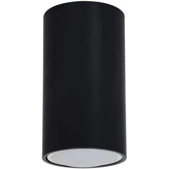 OL15 GU10 BK Подсветка ЭРА светильник накладной под GU10, черный (40/1600)