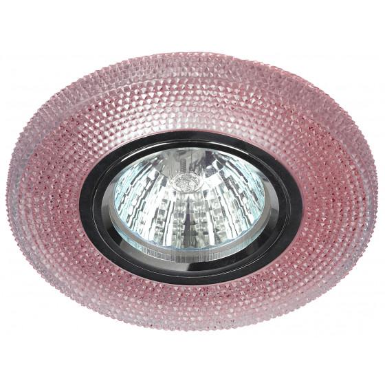DK LD1 PK Светильник ЭРА декор cо светодиодной подсветкой, розовый (50/1750)