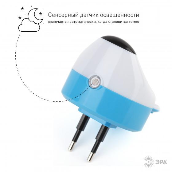ЭРА ночник NN-603-LS-W белый (42/84/1008)