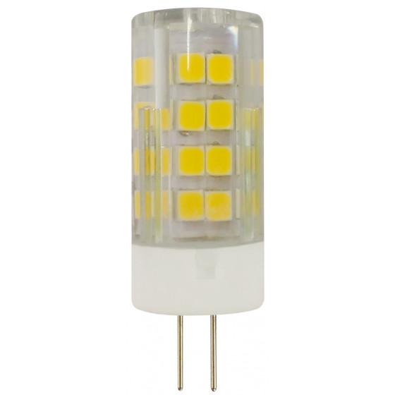 Лампочка светодиодная ЭРА STD LED JC-5W-220V-CER-840-G4 G4 5Вт керамика капсула нейтральный белый свет