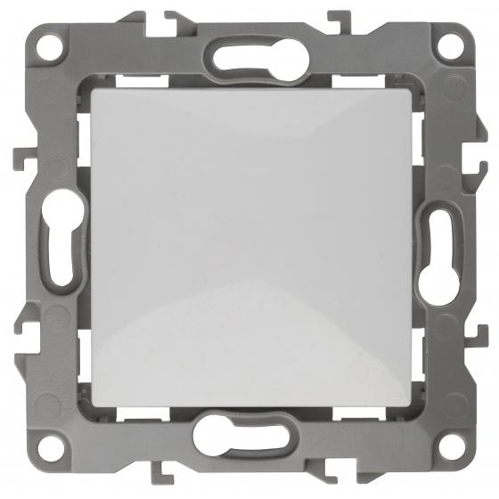 12-1101-01 ЭРА Выключатель, 10АХ-250В, IP20, Эра12, белый (10/100/2800)