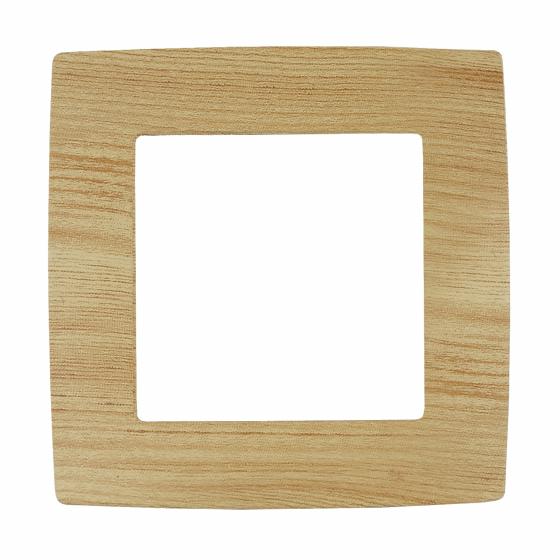 12-5001-11 ЭРА Рамка на 1 пост, Эра12, сосна (20/200/5000)