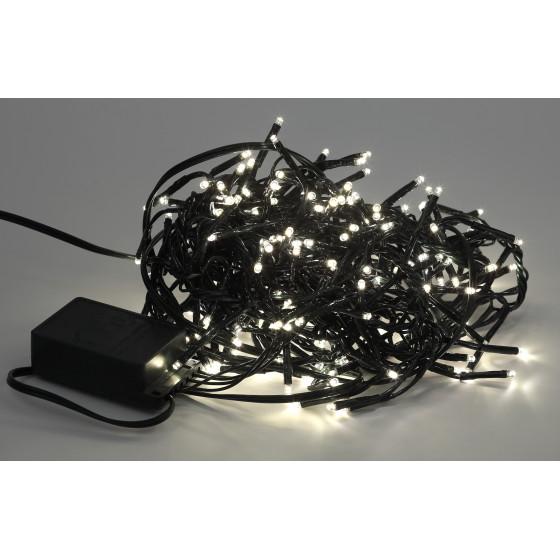 ENIN - GW ЭРА Гирлянда LED Нить Мишура 3,9 м зеленый провод, теплый свет,  220V (24/576)