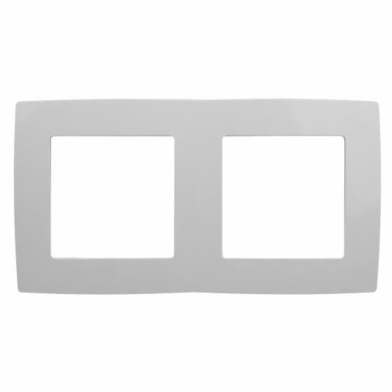 12-5002-01 ЭРА Рамка на 2 поста, Эра12, белый (10/100/3600)