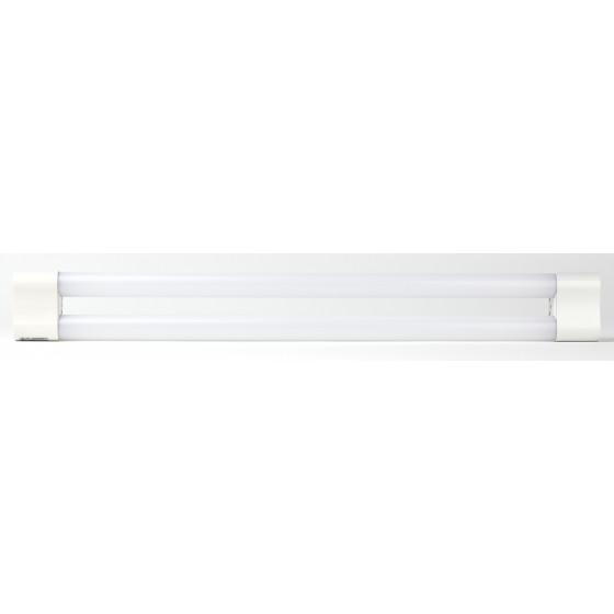 LLED-03-2х9W-6500-W ЭРА Линейный светодиодный светильник  2x9Вт 6500К L2*600мм разъем С7 (30/420)