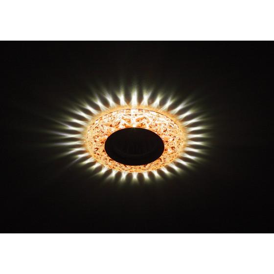 DK LD4 TEA/WH Светильник ЭРА декор c белой светодиодной подсветкой,  чай (50/1400)