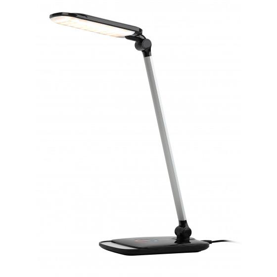 ЭРА наст.светильник NLED-460-14W-BK-S черный с серебром (8/168)