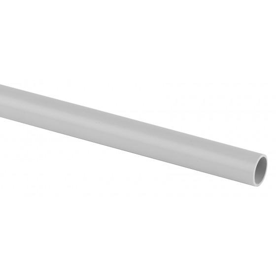 ЭРА Труба гладкая жесткая ПВХ (серый) d 40мм (2м) (14/336)