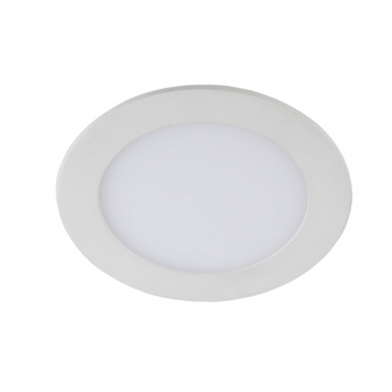 LED 1-24-4K /1 Светильник ЭРА светодиодный круглый LED 24W 220V 4000K (20/180)