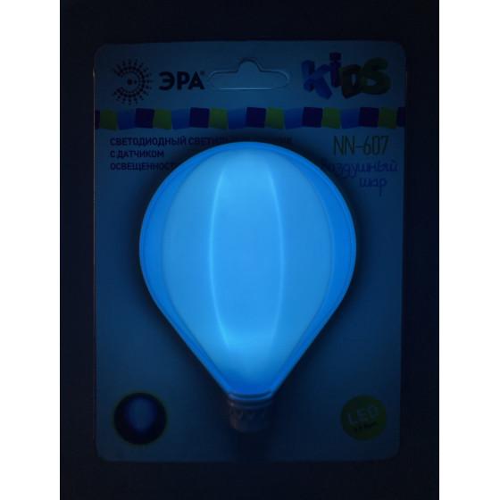 ЭРА ночник NN-607-LS-BU синий (12/240/480)