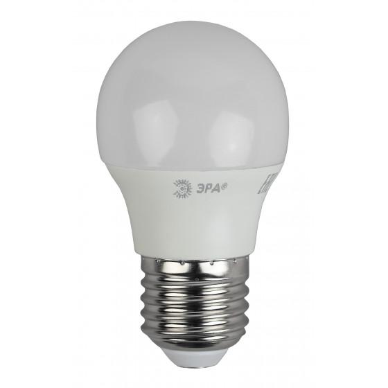 ECO LED P45-6W-840-E27 ЭРА (диод, шар, 6Вт, нейтр, E27) (10/100/4000)
