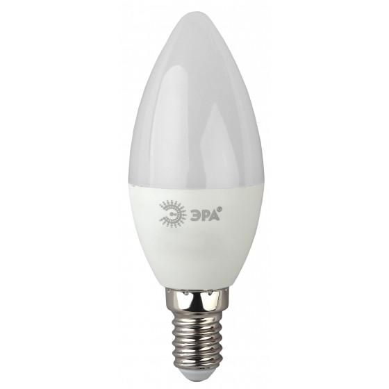 LED B35-7W-840-E14 ЭРА (диод, свеча, 7Вт, нейтр, E14) (10/100/3500)