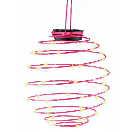 ERASF012-29 ЭРА Садовый подвесной светильник Спираль на солнечной батарее, 22 см (12/420)