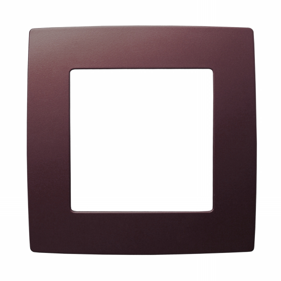 12-5001-25 ЭРА Рамка на 1 пост, Эра12, бордо (20/200/5000)