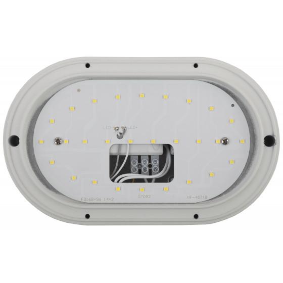 SPB-7-12-O ЭРА Cветильник светодиодный антивандальный IP65 12Вт 1140Лм 5000К 220х135 ОВАЛ (20/400)
