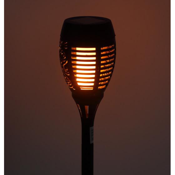 ERASF012-34 ЭРА Садовый светильник Факел на солнечной батарее, 50 см (12/216)