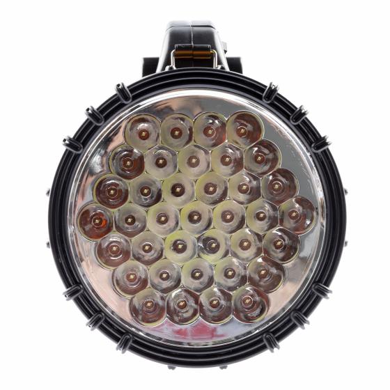 PA-603 Фонарь ЭРА прожектор АЛЬФА [36xLED, литий 3Ач, ЗУ 220V+12V, карт] (8/96)