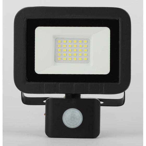LPR-041-2-65K-030 ЭРА Прожектор светодиодный уличный 30Вт 2400Лм 6500К датчик регулир (30/540)