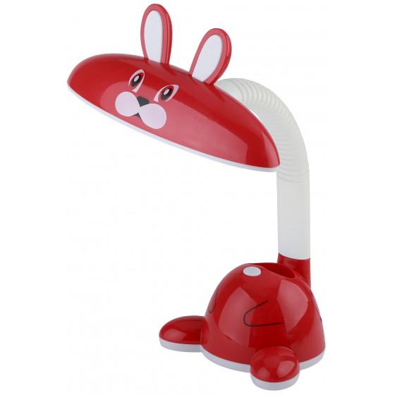 ЭРА наст.светильник NLED-431-5W-R красный (20/120)