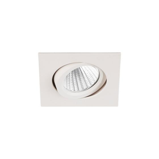 KL LED 10A WH-3K Светильник ЭРА светодиодный квадратный пов. LED COB 5W 3000K, белый (50/1500)