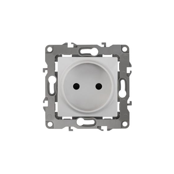 12-2105-01 ЭРА Розетка 2P, 16A-250В, IP20, Эра12, белый (10/100/2500)