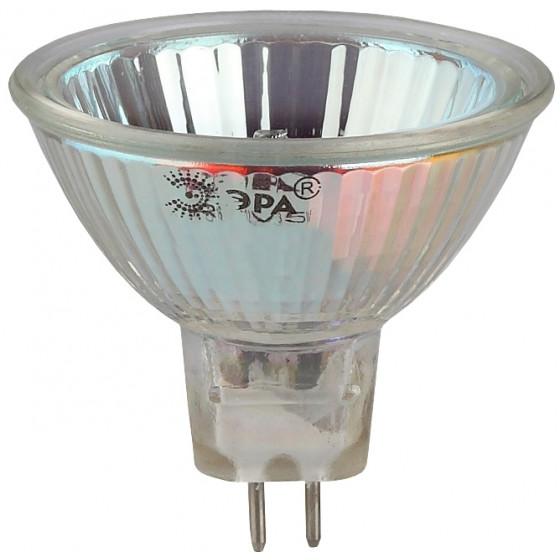 GU5.3-JCDR (MR16) -50W-230V-CL ЭРА (галоген, софит, 50Вт, нейтр, GU5.3) (10/200/6000)