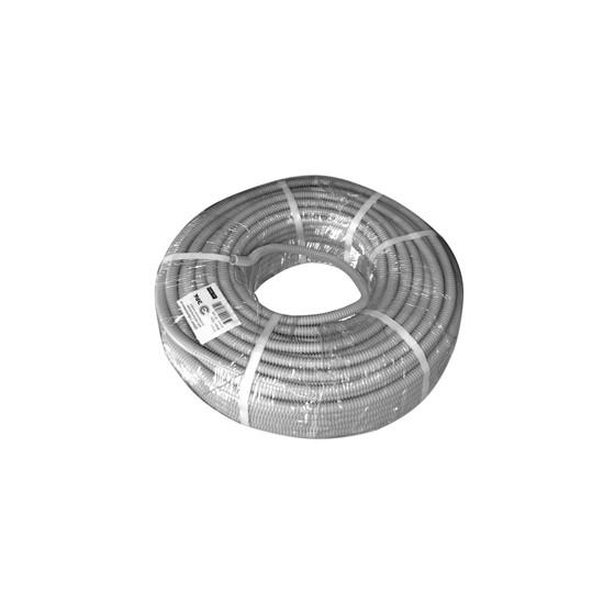 ЭРА Труба гофрированная ПВХ (серый) d 16мм с зонд. легкая 100м (15)