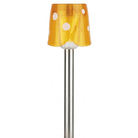 SL-SS36 ЭРА Садовый светильник на солнечной батарее, нержавеющая сталь, стальной, цветной, 36 см (24