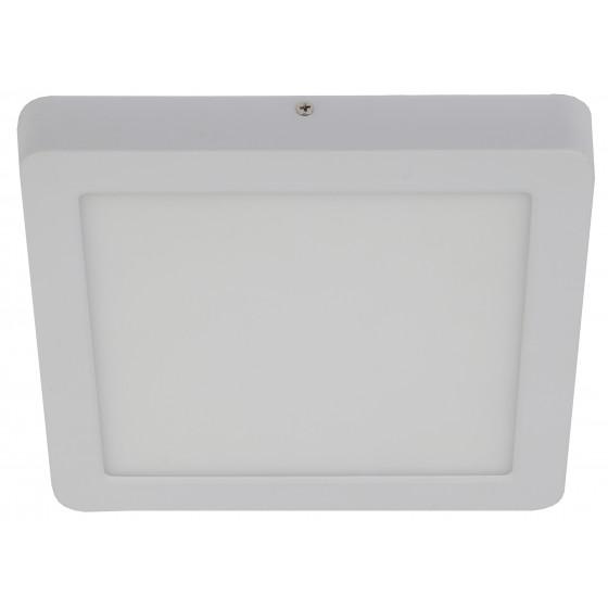 LED 9-18-4K Светильник ЭРА светодиодный квадратный  накладной LED 18W  220V 4000K, белый (10/350)