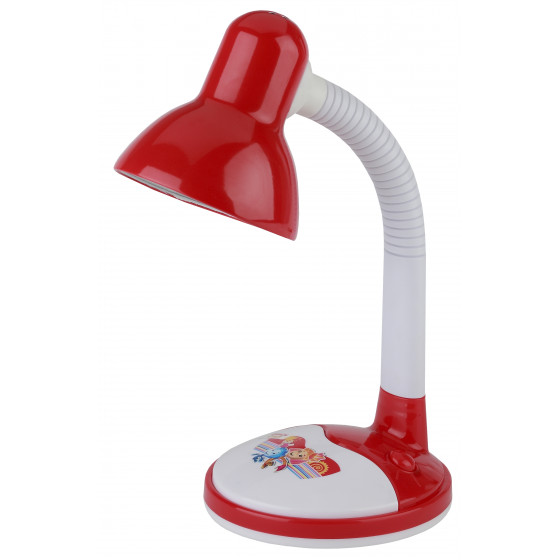 ЭРА наст.светильник N-106-E27-40W-R красный (20/120)