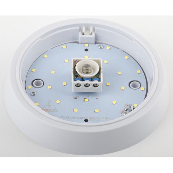 SPB-3-05-4K-MWS ЭРА Cветильник светодиодный IP20 5Вт 400Лм 4000К D155 КРУГ датчик движения (40/600)