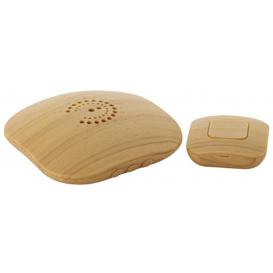 Звонок ЭРА BIONIC Bright wood беспроводной (10/60/480)