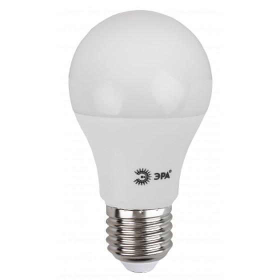 LED A60-15W-860-E27 ЭРА (диод, груша, 15Вт, хол, E27) (10/100/2000)