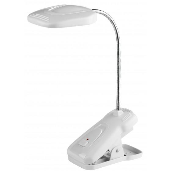 ЭРА наст.светильник NLED-420-1.5W-W белый (10/40/320)