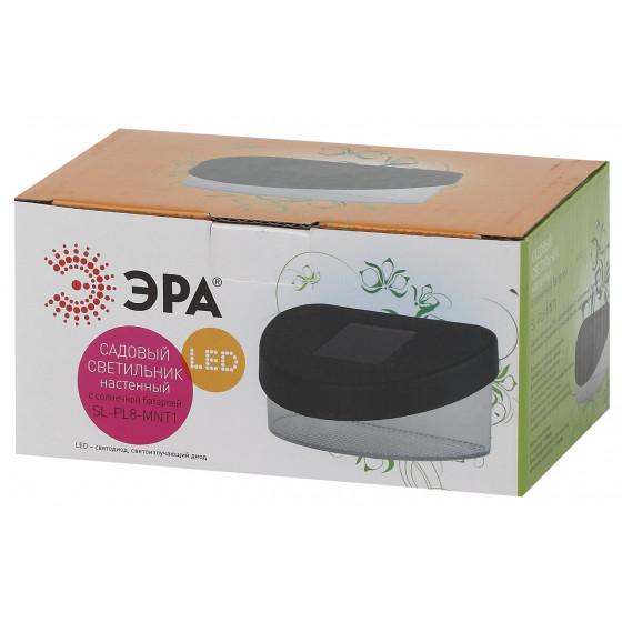 SL-PL8-MNT1 ЭРА Садовый светильник на солнечной батарее, пластик, черный, 5,5 см (24/960)