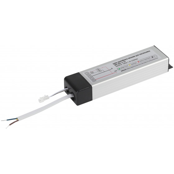 SPO-6-36-4K-P (A) ЭРА Светодиодный светильник с БАП 595x595x19 36Вт 3000Лм 4000К призма (2/48)