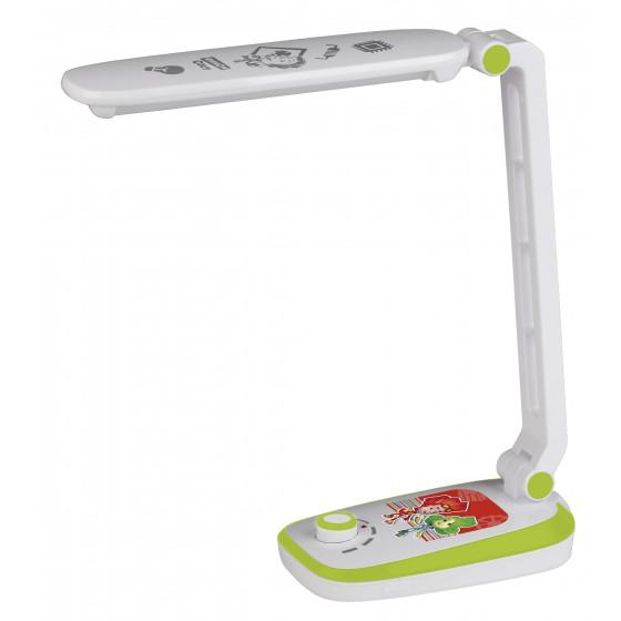 ЭРА наст.светильник NLED-425-4W-GR зеленый ФИКСИКИ (30/360)