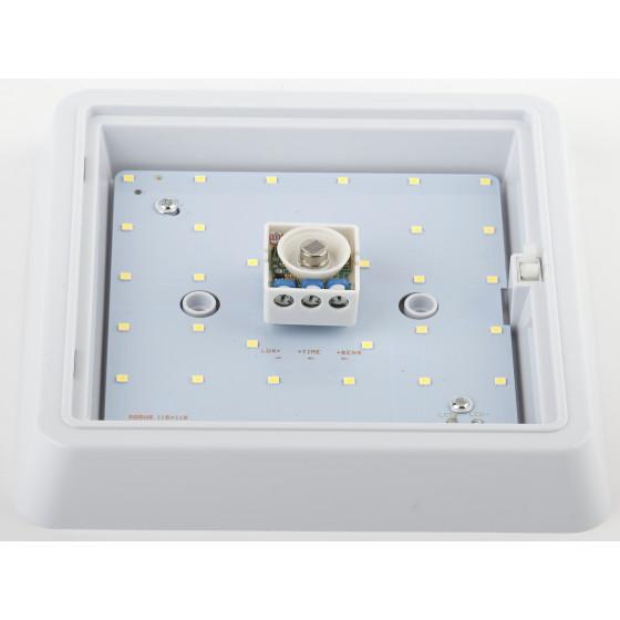 SPB-4-05-4K-MWS ЭРА Cветильник светодиодный IP20 5Вт 400Лм 4000К 140мм КВДРТ датчик движения (40/600